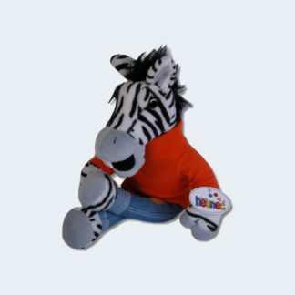 Plüschtier Das kleine Zebra