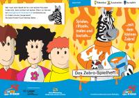 Zebra Spielheft