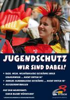 Plakat Jugendschutz-Public Viewing