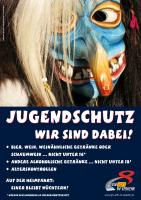 Plakat Jugendschutz – Narren
