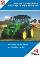 Broschüre land- und forstwirtschaftliche Fahrzeuge