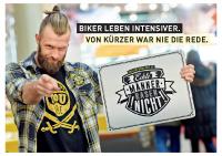 Biker leben intensiver. Von kürzer war nie die Rede.