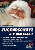 Plakat Jugendschutz – Weihnachtsmarkt