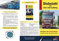 Diebstahl von Lkw und Ladung